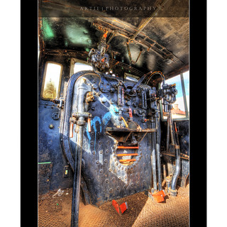 The Art of a Train Engine :: HDR | by :: Artie | Photography :: Happy 2016 !