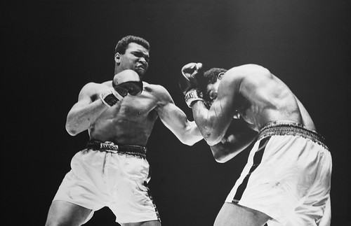 Muhammad Ali vs. Ernie Terrell, Houston Astrodome, Houston, TX, 1967 | by cliff1066™