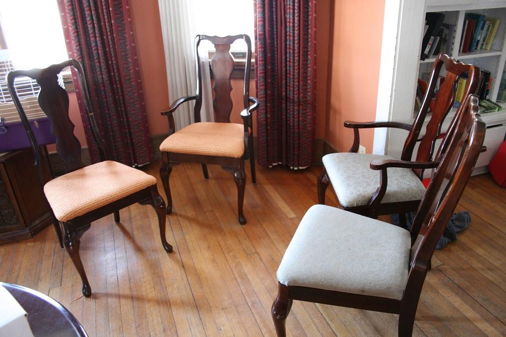 Reupholster Dining Room ChairsReupholstering Vintage