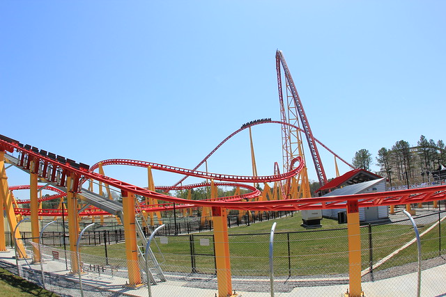 Intimidator 305 side track layout | Flickr - Photo Sharing!