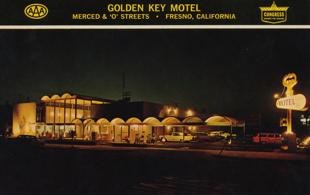 Golden Key Motel - Fresno, California