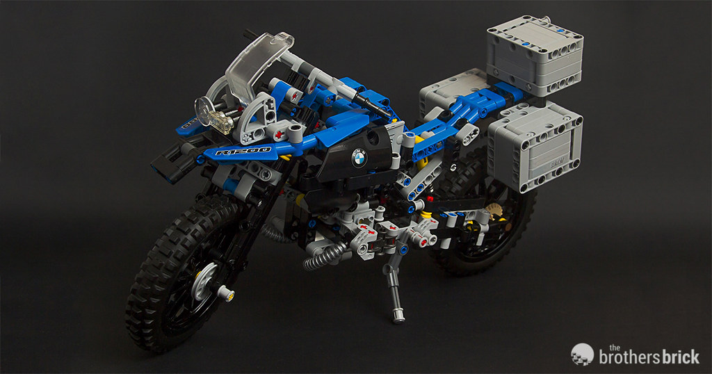 Lego Technic 42063 Bmw R 1200 Gs Adventure Review The Brothers