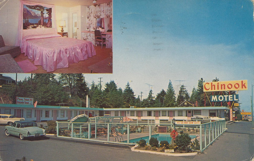 Chinook Motel - Port Angeles, Washington