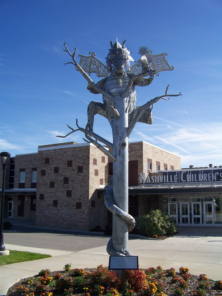 Children's Theater Dragon Statue | Nashville, Tennessee ...