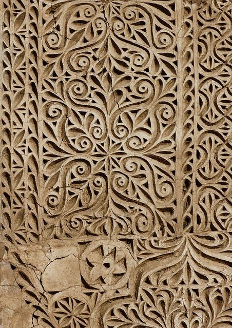 Ottoman Stuc Decoration Saudi Arabia Former Idriss