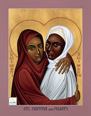 Happy Sts. Perpetua and Felicity Day! | by A.Currell