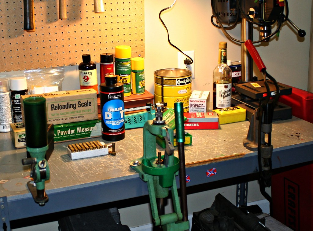 Reloading Bench I Roll My Own After Three Years In