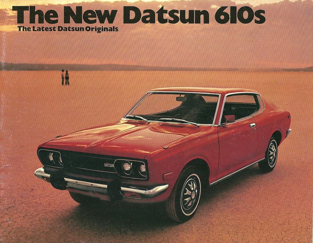 1973 Datsun 610 in the USA | I had a station wagon 610, slow… | Flickr