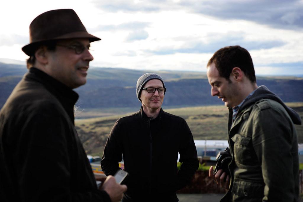 Bob Boilen from left: npr music's bob boilen, robin hilton and mike k… | flickr
