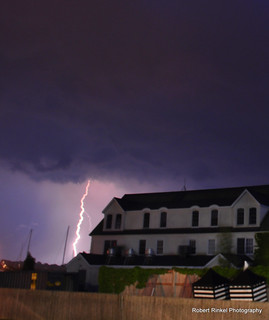 Lightning over Belle Mer, Newport RI | by robert.rinkel