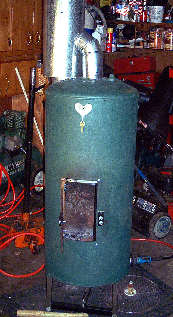 Waste oil burner by j huber made waste oil burner out Burning used motor oil for heat