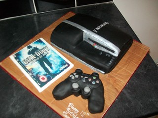 Playstation 3 cake | by Xtra special