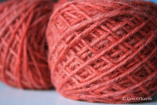 Pink Hand-Dyed Wool | by FreckledPast