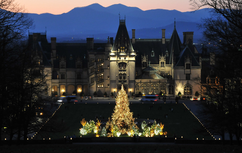 Candle Light Christmas at Biltmore Estate | Stephanie Wallace | Flickr