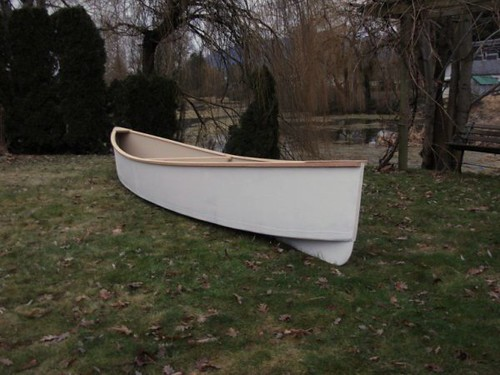 Quick Canoes - Plans for Simple and Cheap plywood canoes | Flickr
