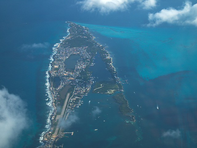Bird's eye view of Isla Mujeres