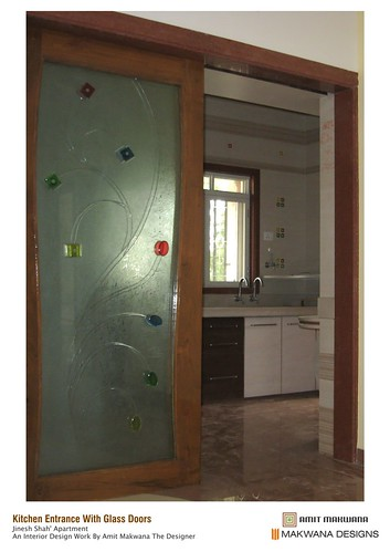 E 39 kitchen entrance with glass doors kitchen entrance for Kitchen entrance door designs