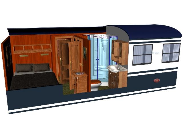 El Transcant 225 Brico Cl 225 Sico Double Cl 225 Sica Cabin Plan