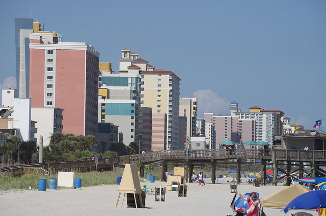 Beach hotel myrtle strip