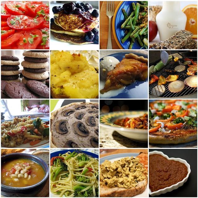 Vegan Food Mashup 06 Cheap Vegan Eats Photos Top To B Flickr