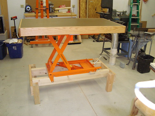 Industrial Adjustable Height Workbench Is Made Of Wholly Welded Steel For  Hanker Durable Lastingness And Strength. Curious What Kind Of Effort It  Mightiness ...