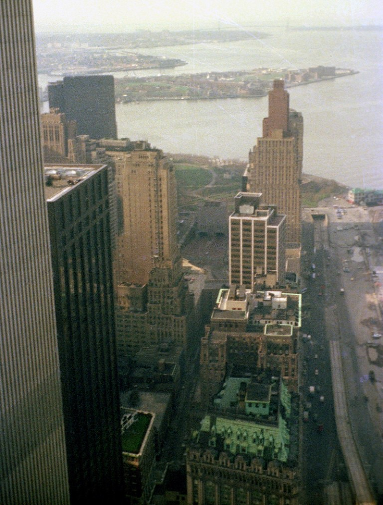 World Trade Center South To Battery Park From The 58th Flo