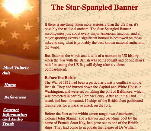 History Of The Us National Anthem Search Engine Land