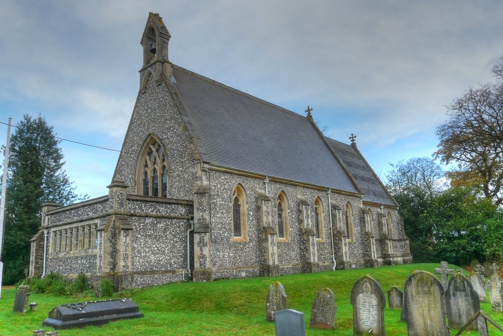 St Saviours Parish Church Mortimer West End Hampshire