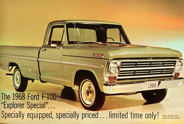 1968 Ford F-100 Explorer Special Pickup | Alden Jewell ...