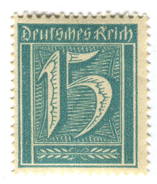 Germany Postage Stamp: Deutsches Reich   c. 1922? www.old ...