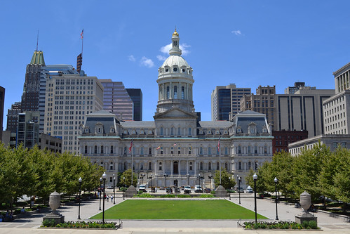 Baltimore City Hall & War Memorial Plaza | by Monument City