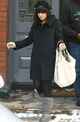 Lily Allen in Ugg Classic Tall Boots Grey Topuggstore   by endroll2009 ...