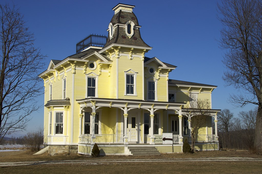 American Victorian Architecture Homes From 1840 to 1900
