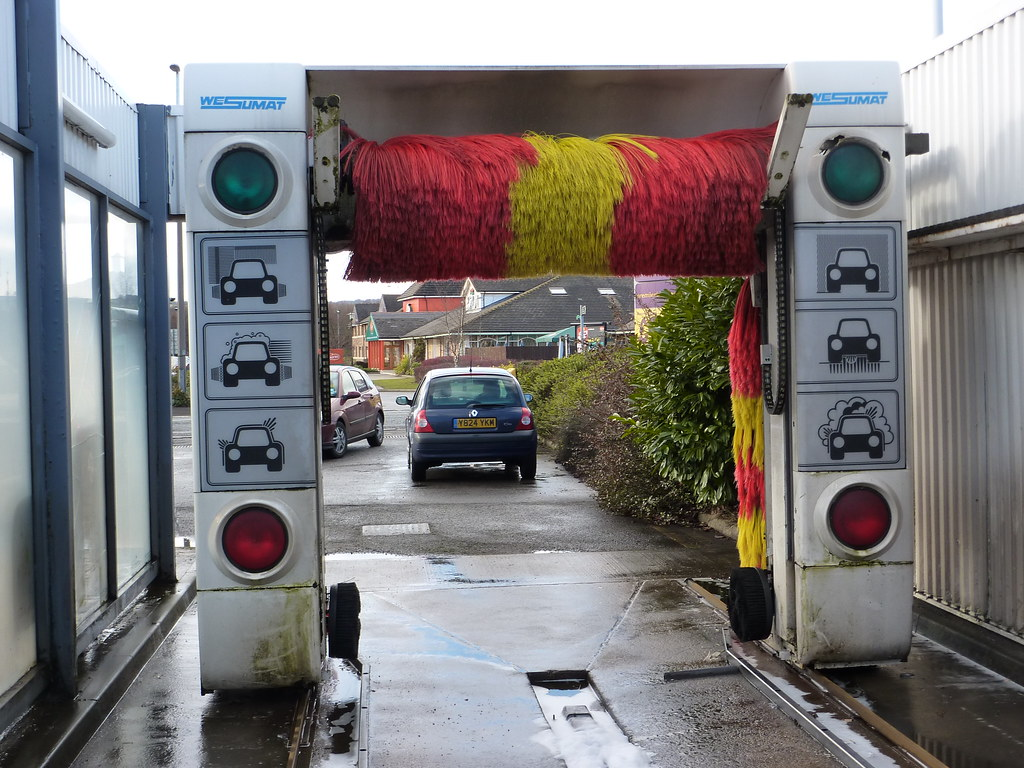 Shell Car Wash >> Shell Wesumat Softwash W92 | This machine was probably the o… | Flickr