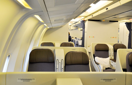 New Aeromexico Business Class Cabin On The 767 200 Flickr