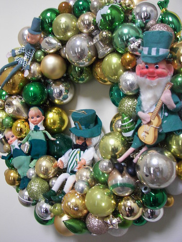St. Patrick's Day Vintage Ornament Wreath | by death by cupcake