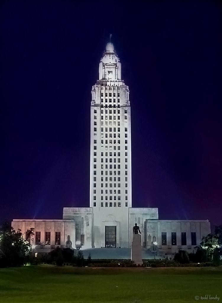 Louisiana State Capital Baton Rouge La 3 14 2010 The
