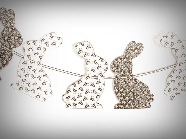 easter bunny garland | lintu sininen | Flickr