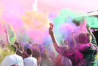 Holi Festival of Colors, Utah 2010 - Chalk Explosion | by jeremy.nicoll