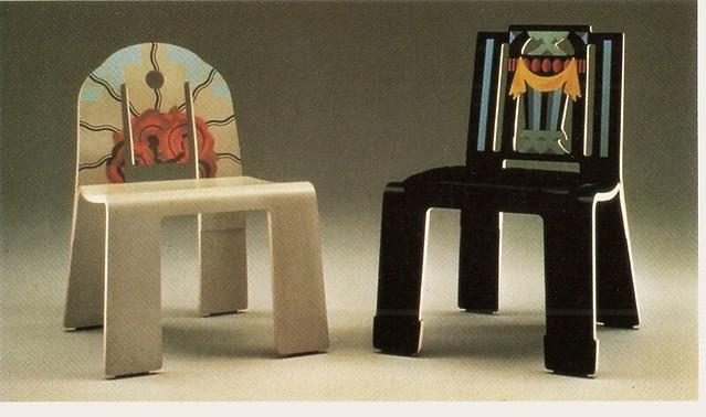 ... Chairs By Robert Venturi | by glen.h & Chairs By Robert Venturi | For Knoll International c1980s | Flickr