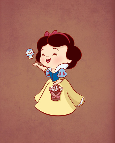 Kawaii Princess - Snow White | Personal project - greeting ...