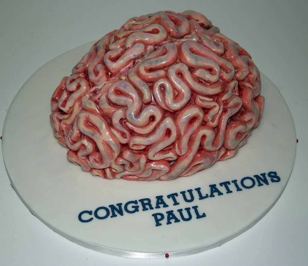 Brain Cake Pan