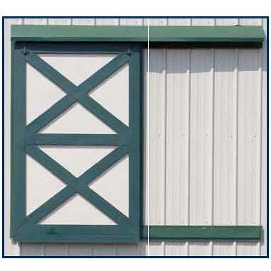 Sliding Loft Door Barn Loft Door With Metal Construction