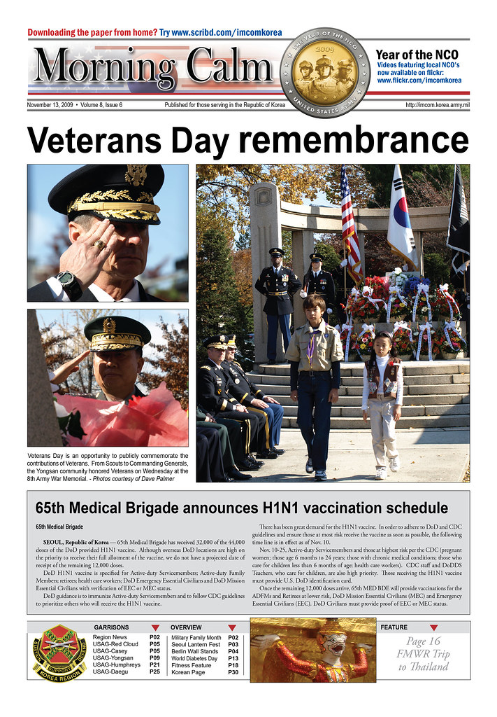 Army prints its last Morning Calm newspaper in South Korea