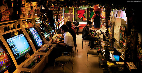 """Super Potato"" vintage video game store in Akihabara, Tokyo. 