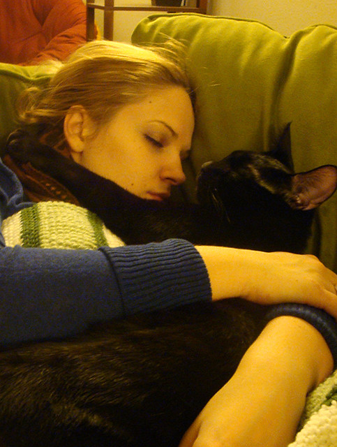 Noxman's the best snugglebuddy.