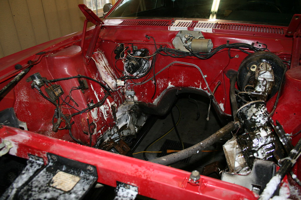 1969 Amc Amx Engine Bay Restoration This Is A Project