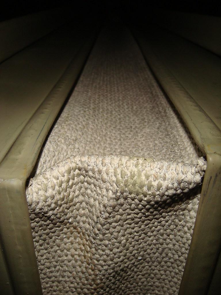 Asbestos HVAC Vibration Dampener | Asbestos textile installe… | Flickr
