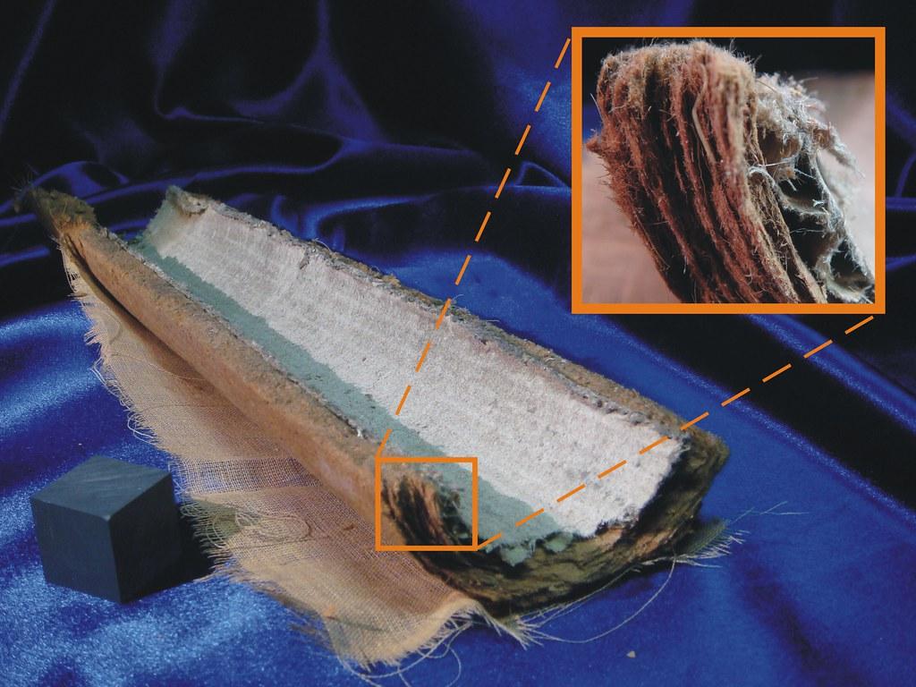 Wool Felt Asbestos Pipe Tsi Amp Detail Example Of An Older