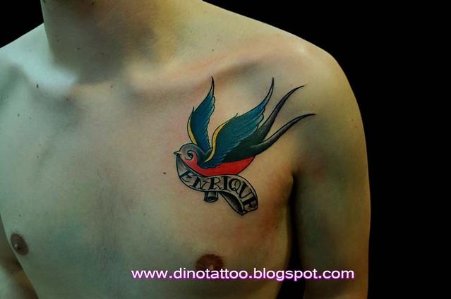 Tattoo Swallowtatuaje Golondrina Tatuagem Andorinha Flickr